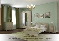 Кровать Диана с низким изножьем