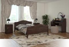 Кровать Филенка №2