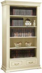 Книжный шкаф «Верди Люкс 2» открытый