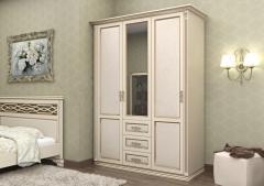 Шкаф Лирона белый  3СТ