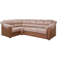 Фламенко 2 угловой диван, ткань 40502, ШхГхВ 300х195х100 см., сп. м. 145х198 см., механизм трансформации выкатной Калипсо, универсальная сборка