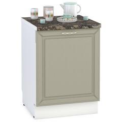 Кухня Маргарита имбирь структурный Панель для посудомоечной машины 600, ШхВ 60х68 см., только фасад, цоколя НЕТ