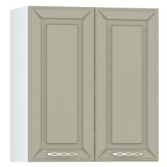 Кухня Маргарита имбирь структурный Шкаф навесной 600 2 двери, ШхГхВ 60х32х68 см., можно сушку установить
