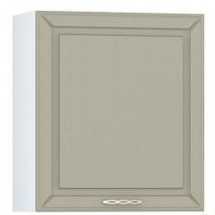 Кухня Маргарита имбирь структурный Шкаф навесной 600 с сушкой для посуды 1 дверь, ШхГхВ 60х32х68 см., универсальная дверь