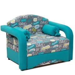 Антошка 85 кресло-кровать, ткань Арт. 11, ШхГхВ 110х80х82 см., сп. м. 85х190 см.