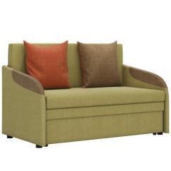 СНЯТО!Громит диван-кровать 120,ткань ТД 130(Осло мустард/манго/хоней),ШхГхВ 130х80(200)х86(68) см.,сп. м.120х195 см.,механизм: выкатной,бельевой ящик