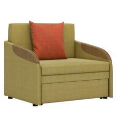 СНЯТО!Громит диван-кровать 85, ткань ТД 130(Осло мустард/манго/хоней),ШхГхВ 95х80(200)х86(68) см.,сп. м.85х195 см.,механизм: выкатной,бельевой ящик