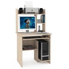 Стол компьютерный Комфорт 3 СК, цвет дуб паллада, ШхГхВ 80х63х139 см., НЕ универсальная сборка