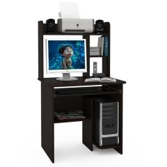 Стол компьютерный Комфорт 3 СК, цвет венге магия, ШхГхВ 80х63х139 см., НЕ универсальная сборка