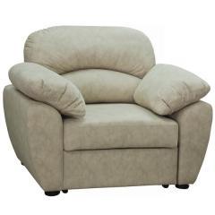 Фламенко кресло для отдыха, ткань 40423, ШхГхВ 120х102х100 см., есть бельевой ящик