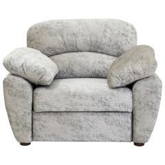 Фламенко кресло для отдыха, ткань 40435, ШхГхВ 120х102х100 см., есть бельевой ящик