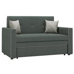 Найс диван-кровать 120, ткань ТД 172(Алма 24/Алма 25), ШхГхВ 146х80(200)х84(77) см., сп. м. 120х195 см., механизм трансф.: выкатной, короб для белья