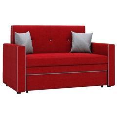Найс диван-кровать 120, ткань ТД 173(Алма 31/Алма 25),ШхГхВ 146х80(200)х84(77) см.,сп. м.120х195 см.,механизм трансф.:выкатной, короб для белья