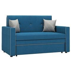 Найс диван-кровать 120, ткань ТД 114(Алма 22/Алма 25), ШхГхВ 146х80(200)х84(77) см., сп. м. 120х195 см., механизм трансф.: выкатной, короб для белья