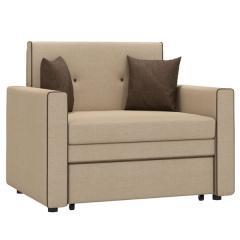 Найс диван-кровать 85, ткань ТД 111(Алма 26/Алма 40), ШхГхВ 111х80(200)х84(77) см., сп. м. 85х195 см., механизм трансф.: выкатной, короб для белья