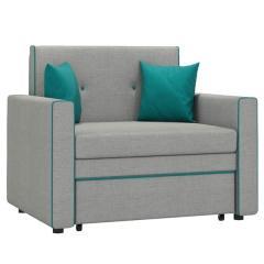 Найс диван-кровать 85, ткань ТД 112(Алма 25/Алма 21), ШхГхВ 111х80(200)х84(77) см., сп. м. 85х195 см., механизм трансф.: выкатной, короб для белья