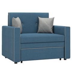 Найс диван-кровать 85, ткань ТД 114(Алма 22/Алма 25), ШхГхВ 111х80(200)х84(77) см., сп. м. 85х195 см., механизм трансф.: выкатной, короб для белья
