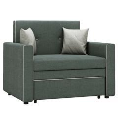 Найс диван-кровать 85, ткань ТД 172(Алма 24/Алма 25), ШхГхВ 111х80(200)х84(77) см., сп. м. 85х195 см., механизм трансф.: выкатной, короб для белья