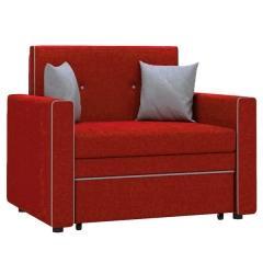 Найс диван-кровать 85, ткань ТД 173(Алма 31/Алма 25), ШхГхВ 111х80(200)х84(77) см., сп. м. 85х195 см., механизм трансф.: выкатной, короб для белья