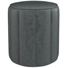 Вояж пуф, ткань ТП 165 Легион грей (каменный серый), ШхГхВ 40х40х43 см.