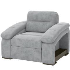 Рокси кресло, ткань 40431, ШхГхВ 115х103х98 см., бельевой ящик в кресле