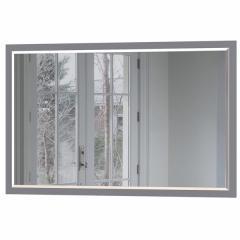 КРДА??? Локи Зеркало навесное 03.239, цвет серый шифер, ШхГхВ 85х2х55 см.