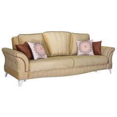 Каролина диван-кровать, ткань ТД 119, ШхГхВ 247х106х100 см., сп. м. 131х195 см., механизм трансформации книжка с 0 стенкой