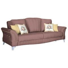 Каролина диван-кровать, ткань ТД 120, ШхГхВ 247х106х100 см., сп. м. 131х195 см., механизм трансформации книжка с 0 стенкой