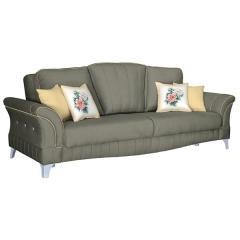 Каролина диван-кровать, ткань ТД 121, ШхГхВ 247х106х100 см., сп. м. 131х195 см., механизм трансформации книжка с 0 стенкой