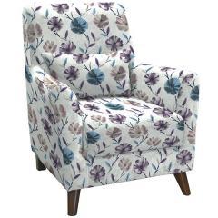 Либерти кресло, ткань ТК 207, ШхГхВ 75х87х89 см.