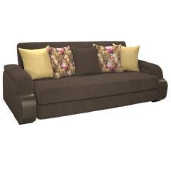Николь диван-книжка, ткань ТД 833, ШхГхВ 247х103х90 см., сп. м. 131х195 см., механизм трансформации книжка с 0 стенкой