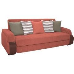 Николь диван-книжка, ткань ТД 834, ШхГхВ 247х103х90 см., сп. м. 131х195 см., механизм трансформации книжка с 0 стенкой