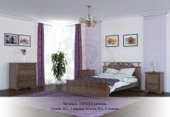 Кровать Ирида резная