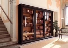 Книжный шкаф  купе Люкс