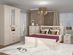Спальня Лира белая