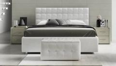 Кровать Мадрид с мягким изголовьем