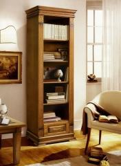 Книжный шкаф «Верди Люкс 1» открытый