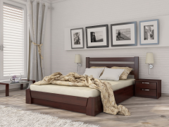 Кровать Селена с высокой прямой спинкой