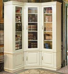 Книжный шкаф  угловой «Верди Люкс 23»