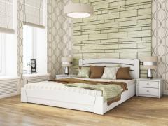 Белая кровать Венеция  с подъемным механизмом