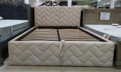 Кровать Волна с мягким изголовьем